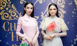 'Thiên thần chuyển giới Thái Lan' khoe sắc bên Hương Giang