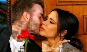 Giải mã những nụ hôn của vợ chồng Becks