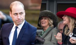 Hoàng tử William từng xung đột với con gái của mẹ kế