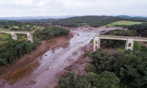 7 người chết và hàng trăm người mất tích vì vỡ đập ở Brazil
