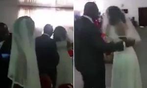 Cô dâu 'sốc' khi bồ nhí của chú rể mặc váy cưới đến nhà thờ