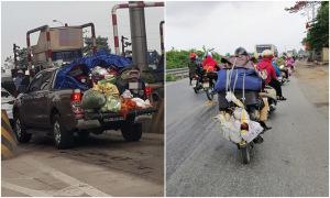 Chuyến xe 'chở cả quê hương' lên thành phố sau Tết Nguyên đán