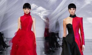 Phương My mang tinh thần Á Đông đến New York Fashion Week