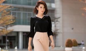 Thúy Ngân 'Gạo nếp gạo tẻ' đẹp rạng rỡ cùng trang phục Sohee