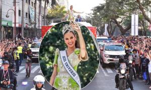Người Philippines xuống đường chào đón tân Hoa hậu Hoàn vũ