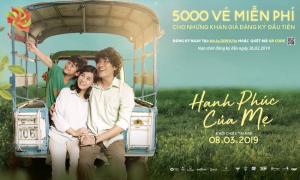 Tặng 5.000 vé xem phim 'Hạnh phúc của mẹ' nhân ngày 8/3