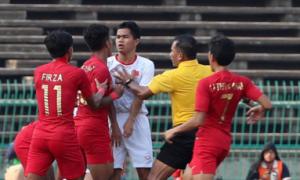 Việt Nam bị Indonesia loại khỏi U22 Đông Nam Á