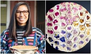 Bánh nướng hình học bắt mắt của cô gái Mỹ