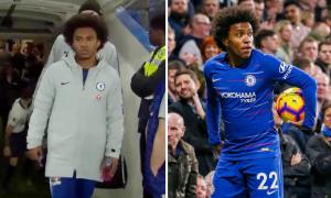 Sao Chelsea 'ngáo ngơ' khi bước ra từ đường hầm