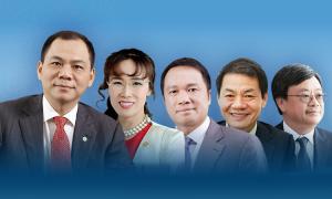 Khối tài sản của 5 tỷ phú Việt Nam
