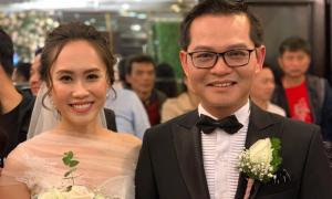 Trung Hiếu và vợ kém 19 tuổi làm tiệc cưới tại quê nhà Thái Bình