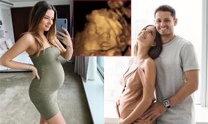 Chicharito và bạn gái tiết lộ giới tính em bé sắp chào đời