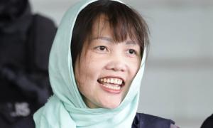 Đoàn Thị Hương cười tươi rời tòa: 'Đây là phán quyết công bằng'