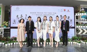 Á hậu Thùy Dung: 'Trao tặng sách là đầu tư vào tri thức, tương lai'