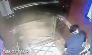 Cựu Viện phó VKS thừa nhận ôm hôn bé gái trong thang máy