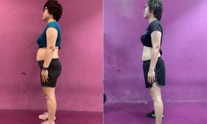Tự ti vì vóc dáng sồ sề sau hai lần sinh, mẹ 8X Hà Nội giảm cấp tốc 10 kg