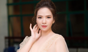 Style của Đan Lê là ý tưởng cho cô dâu tổ chức tiệc cưới ngoài trời