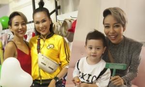Thảo Trang tập kinh doanh để có thu nhập ổn định nuôi con