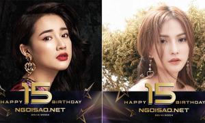 Sao Việt đồng loạt thay avatar mừng sinh nhật Ngoisao.net