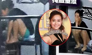 Á hậu Hong Kong giam mình trong nhà sau scandal ngoại tình