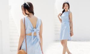 Đầm công sở thanh nhã cho chị em diện mùa hè