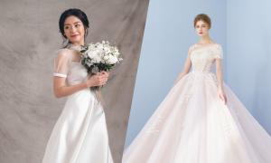 Top 10 váy cưới được yêu thích tháng 4