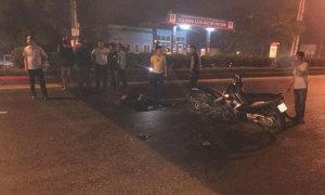 Cảnh sát cơ động tử vong khi xử lý vi phạm giao thông