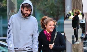Shakira lộ bụng to, rộ tin mang bầu lần ba