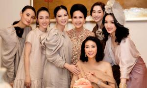 Dàn mỹ nhân dự sinh nhật Hoa hậu Hà Kiều Anh