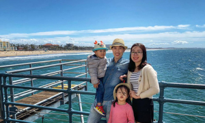 Chuyến 'phượt' dọc nước Mỹ của cặp vợ chồng Việt và hai con nhỏ