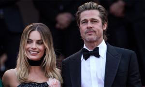 Brad Pitt xuất hiện trên thảm đỏ Cannes sau ly hôn