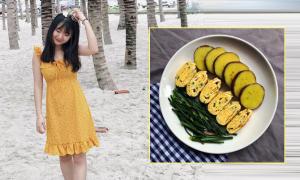 Thực đơn ăn kiêng giảm 4 kg sau một tháng của cô sinh viên Hà Nội