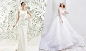 Top 10 váy cưới được yêu thích tháng 5