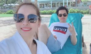 Dương Khắc Linh và Sara Lưu đi nghỉ dưỡng ở Đà Nẵng