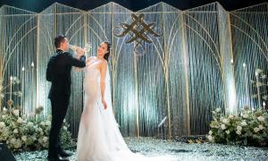 Tiệc cưới 'ánh sao huyền ảo' của Phương Mai và chồng Tây