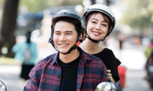 Jennifer Phạm dạo phố, đi ăn cùng MC Vũ Mạnh Cường