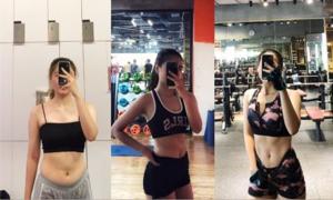 Bí quyết giảm 6 kg sau hơn một tháng của cô sinh viên sư phạm