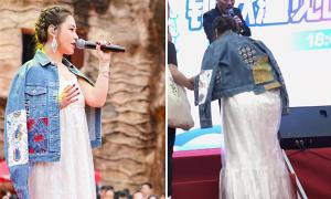 Bị đồn bầu bí, Chung Hân Đồng giải thích 'do béo'