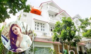 Biệt thự trắng rộng 1.400 m2 của ca sĩ Vy Oanh