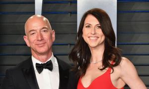 Ông chủ Amazon sắp chuyển cho vợ cũ 38 tỷ USD