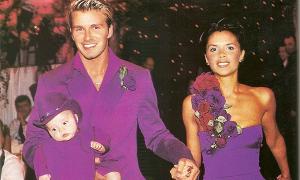 Vợ chồng Becks kỷ niệm 20 năm ngày cưới
