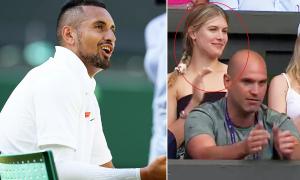 Người đẹp quần vợt ủng hộ 'trai hư' Nick Kyrgios