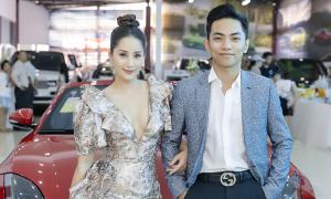 Vợ chồng Khánh Thi - Phan Hiển dự khai trương showroom Auto 568