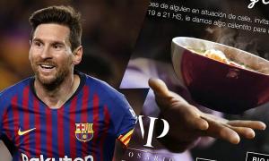 Nhà hàng của Messi cung cấp đồ ăn uống miễn phí cho người vô gia cư