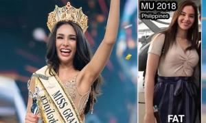 Tân HH Thái Lan gây tranh cãi vì miệt thị hình thể Miss Universe 2018