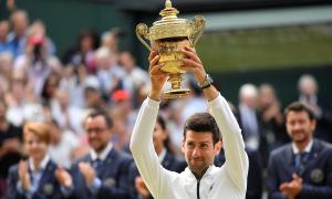 Hạ Federer sau 5 tiếng, Djokovic đăng quang Wimbledon