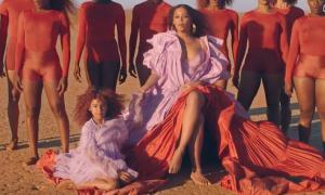 Con gái Beyonce đóng MV của mẹ