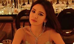 Song Hye Kyo gầy đi 5 kg khi xuất hiện ở Monaco