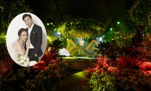 Tiệc cưới khu rừng tình yêu của Đàm Thu Trang - Cường Đôla