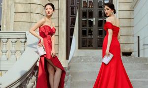 Váy đi tiệc mùa hè cho nàng yêu sắc đỏ